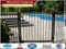 galvanized steel deer fence,steel fence post base plate,heavy duty steel fence panels