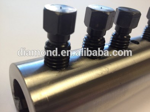 Bolted rebar coupler/no thread coupler /lockshear bolts for repair buildings