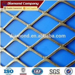 Best Price Heavy Duty Steel Diamond Flat Plate /Expanded Metal Mesh