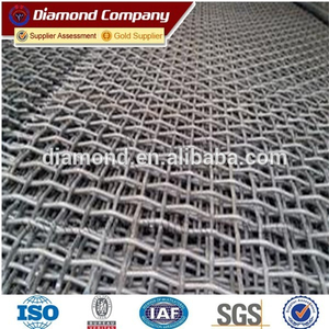 long service time crusher screen mesh / fine mesh with cheap price