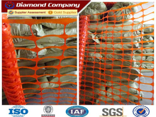 Manufature PE plastic barrier mesh fence.