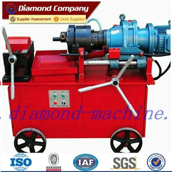 rebar threading machine