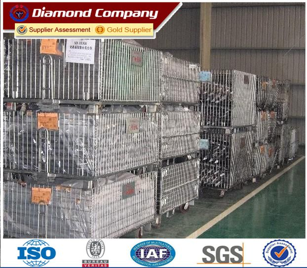 High quality wholesale steel storage cages, storage cage rack,metal cage storage container,folding steel storage cage,