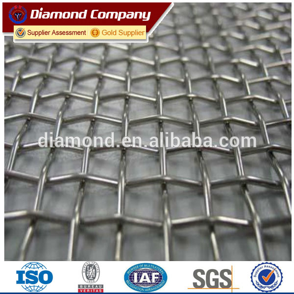 25years factory ss crimped wire mesh