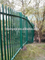 Manufacture high quality decorative steel galvanized palisade fencing prices