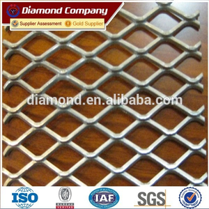 diamond galvanized esmall hole expanded metal mesh / hot sale expanded metal mesh manufacture