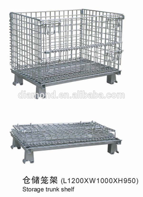 wholesale steel storage cages storage cage rack,welded steel wire storage cage