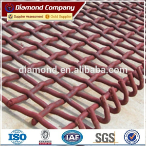 hot sale vibrating screen mesh / fine mesh screen / wire mesh screen price factory
