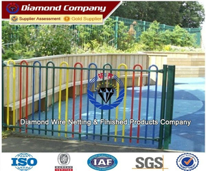 Super beautiful ornamental cast iron fence /plastic lattice fence/paintball fence/accordion fence