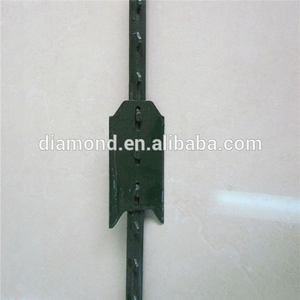Galvanized HD T Post with Plate -7 ft 1.25 lb
