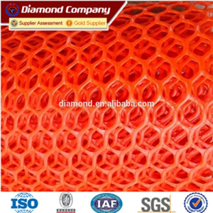 ISO9001 Plastic Hexagonal Breeding Netting Chicken Feeding Wire Mesh factory