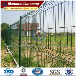PVC Coated Metal Wire Welded Fence Panels