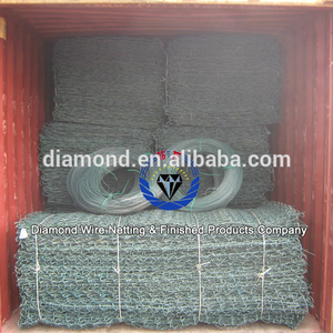 wire mesh gabion box exported to Jordan Thailand