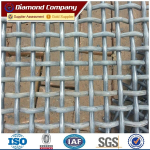 wholesale sieve metal crimped wire mesh