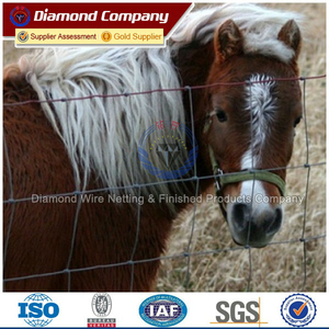sale factory electric galvanized horse fence for farm field