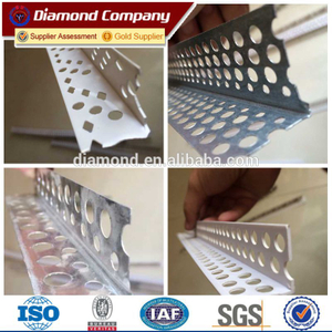 Perforated aluminum corner bead/Perforated metal corner bead/Perforated pvc corner bead