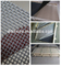 Ultimate flexibility of design T316 stainless steel mesh security screen
