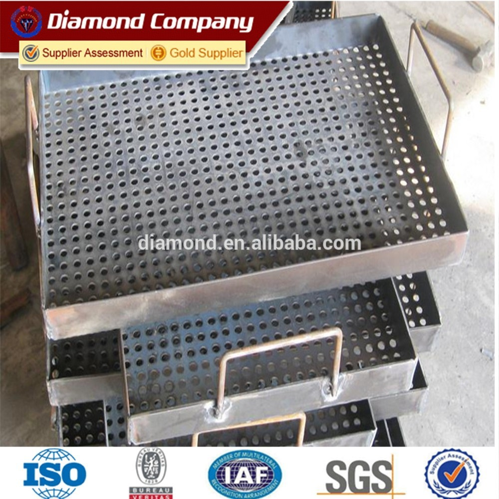 Good Offer Speaker Grill Round Hole Perforated Wire Mesh