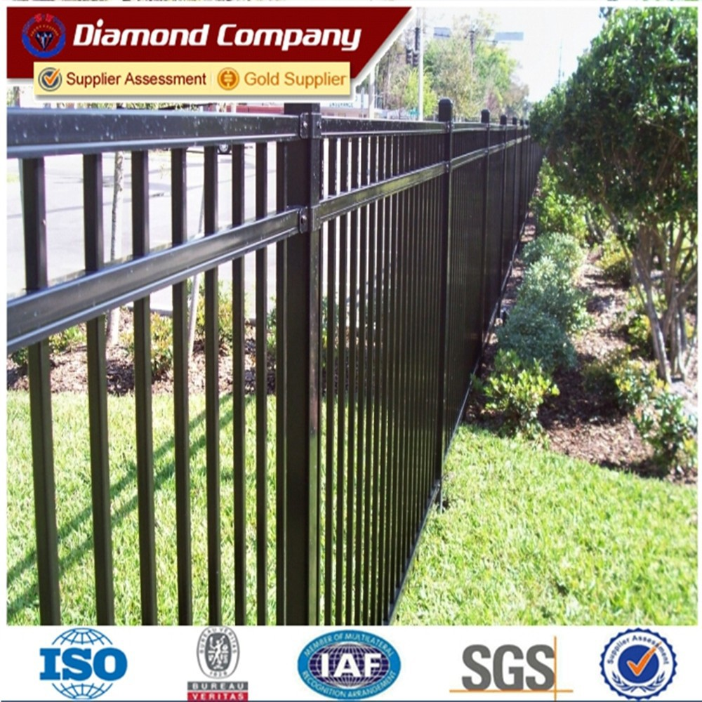 decorative iron fence steel fence,prefab iron fence panels,corten steel fence