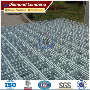 galvanized welded metal panel, Electro welded galvanized steel reinforcement wire mesh 600-700 Mpa tensile strength
