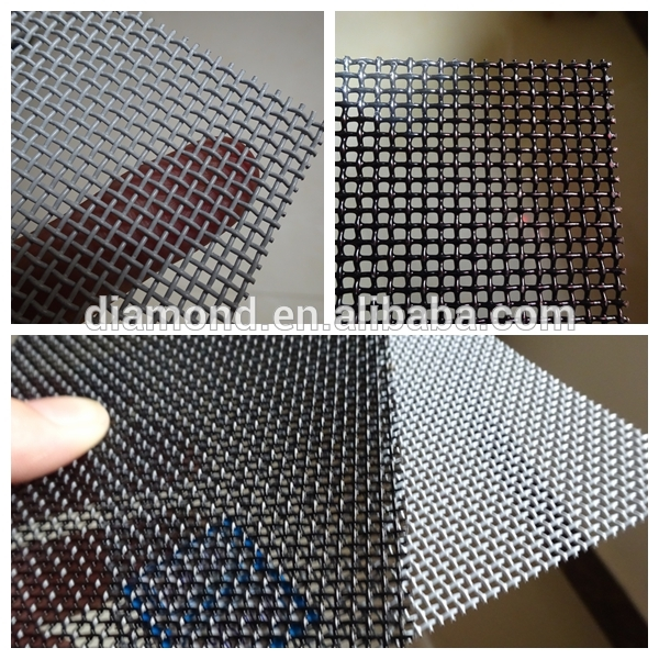 Burglarproof screen window/security mosquito window screen