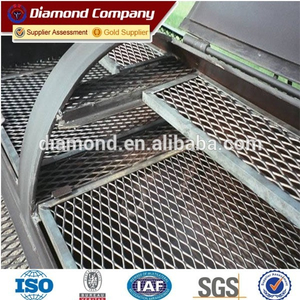 low price heavy duty expanded metal mesh /expanded metal