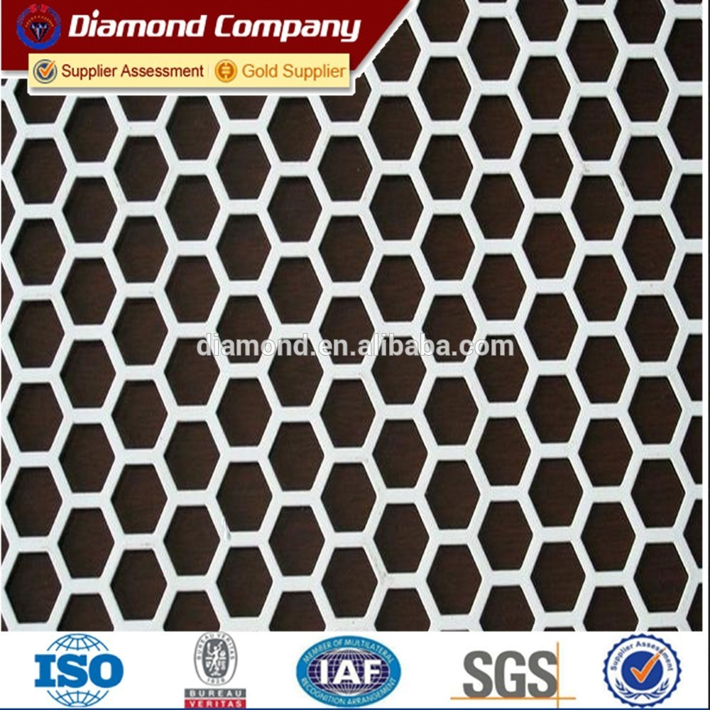 UNS N04400 MONEL ALLOY 400 PUNCHING HOLE PERFORATED MESH(10 years professional factory)
