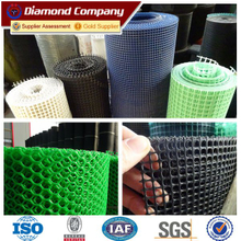 High quality colorful flexible hard plastic mesh