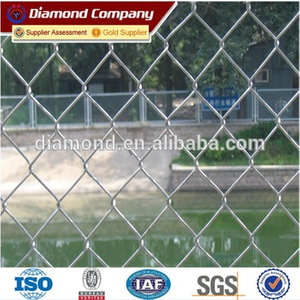 pvc coated chain link mesh panels wire fencing