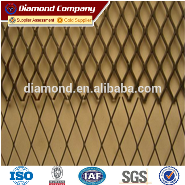 galvanized zinc and HD galvanized expanded metal mesh