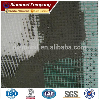 fiberglass mesh Indoor for spackling -reinforcement of gypsum plasterboard - Repair of cracks on ceilings and walls