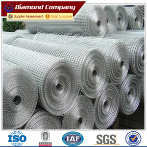 galvanized & iron & 304SS welded wire mesh panel