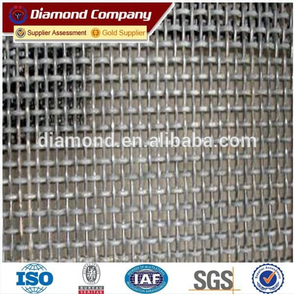 high tensile crimped wire mesh screen / mining screen mesh price