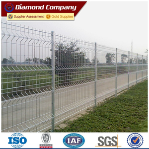 welded wire mesh fence panels in 6 gauge